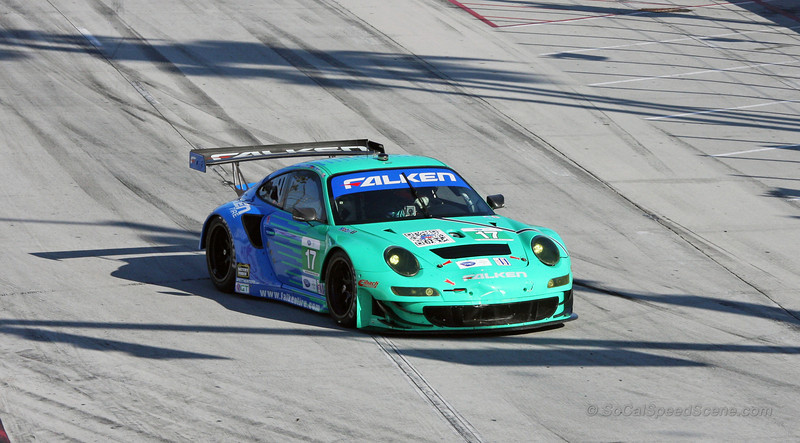 Team Falken Tire Porsche 911 RSR #17 - Toyota Grand Prix of Long Beach
