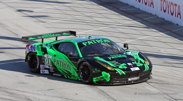 Extreme Speed Motorsports Ferrari 458 at Toyota Grand Prix of Long Beach ALMS