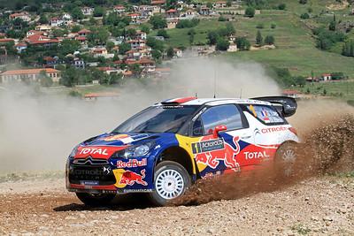 Sebastian Loeb, Citroen DS3 WRC, SS12 Kefalari.