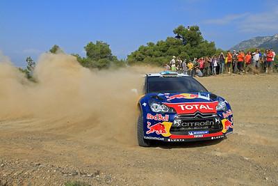 Miko Hirvonen, Citroen DS3 WRC, SS18 Aghii Theodori.