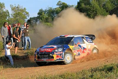 Sebastian Loeb, Citroen DS3 WRC, SS9 Thiva.