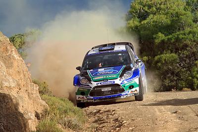 Jari-Matti Latvala, Ford Fiesta RS WRC, SS1 Kineta.
