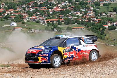 Miko Hirvonen, Citroen DS3 WRC, SS12 Kefalari.