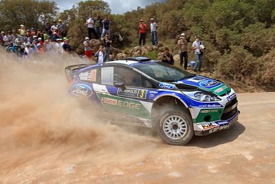 Jari-Matti Latvala, Ford Fiesta RS WRC, SS5 Bauxites.