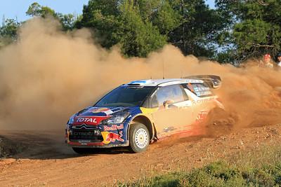Miko Hirvonen, Citroen DS3 WRC, SS9 Thiva.