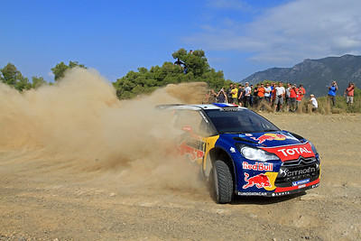 Sebastian Loeb, Citroen DS3 WRC, SS18 Aghii Theodori.