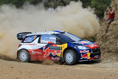 Sebastian Loeb, Citroen DS3 WRC, SS20 Aghii Theodori.