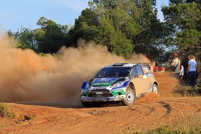 Jari-Matti Latvala, Ford Fiesta RS WRC, SS9 Thiva.