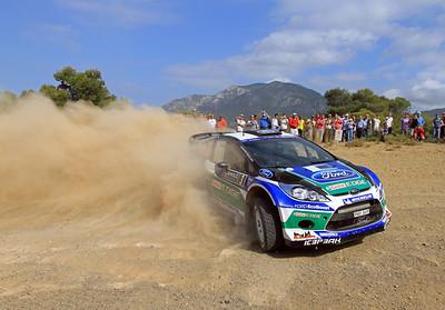 Jari-Matti Latvala, Ford Fiesta RS WRC, SS18 Aghii Theodori.