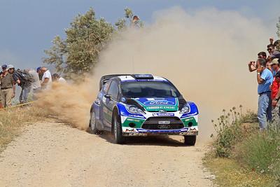 Jari-Matti Latvala, Ford Fiesta RS WRC, SS14 Klenia-Mycenae.