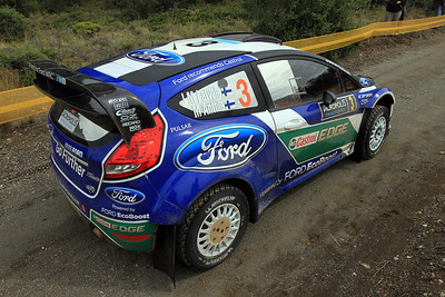 Jari-Matti Latvala, Ford Fiesta RS WRC, Qualifying stage.