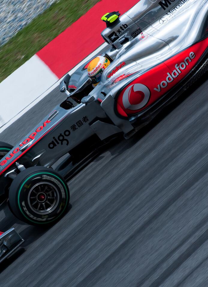 F1-1 Malaysia, Sepang 2010 <br /> Lewis Hamilton