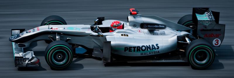 F1-1 Malaysia, Sepang 2010 <br /> Michael Schumacher -