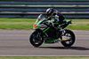 Danny Buchan on board the FS-3 Racing Kawasaki team's Kawasaki in the Bennetts British Superbike Championship With Pirelli