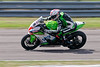 Luke Mossey on board the JG Speedfit Kawasaki team's Kawasaki in the Bennetts British Superbike Championship With Pirelli