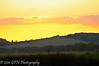 Sunset over Thruxton