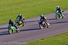 Jason Byard (Kawasaki ZX10R) leads Peter Carr (Yamaha R1 1000), Dean Silvester (Yamaha R1) and Mark Skinner (Suzuki GSXR 1000 K5)