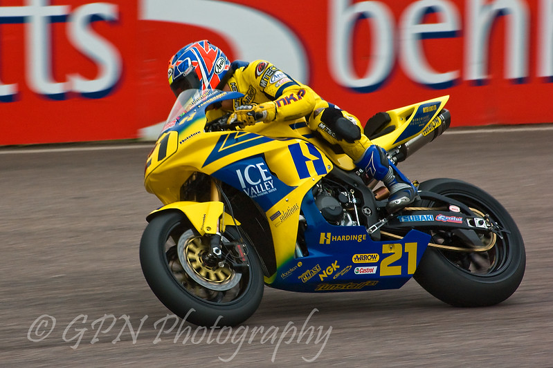 Tom Tunstall - Hardinge Ice Valley Motorsport Honda