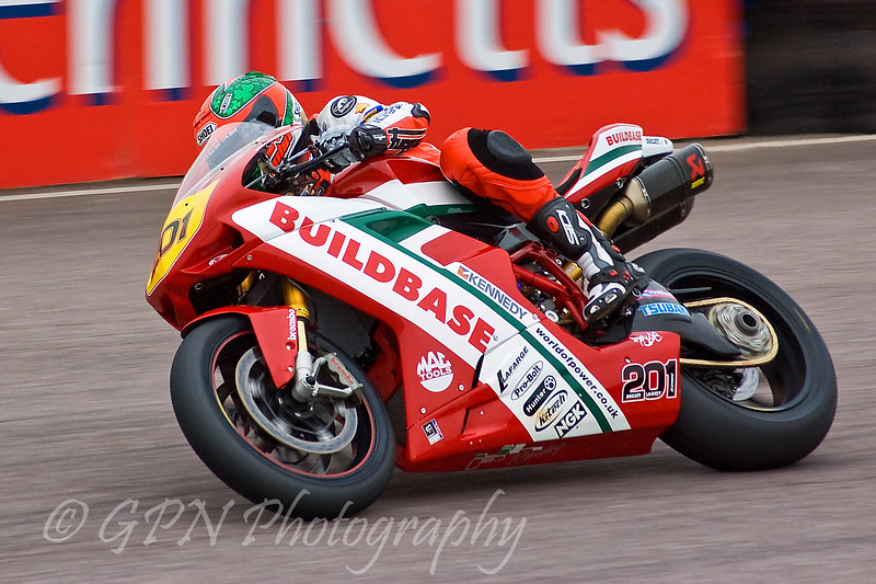 John Laverty - Buildbase NW200 Ducati