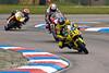 Tom Tunstall - Hardinge Ice Valley Motorsport Honda leads Micheal Rutter - North west 200 Ducati & Leon Morris - Team Trimite Brookspeed Ducati