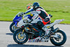 Michael Howorth (Magic Bullet Suzuki) being passed by Tommy Bridewell (Quay Garage Honda)