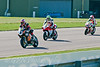 Josh Brookes (HM Plant Honda) leads Peter Hickman (Ultimate Racing Yamaha) & Michael Rutter (Riders Motorcycles Ducati)
