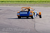Mark Brunning (Caterham 7) getting a bit crossed up through the complex - Easytrack Caterham Graduate Championship (Mega)