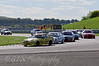 James Webb (BMW E36) leads Colin Wells (BMW M3) and the rest of the field - Kumho BMW Championship