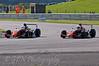 Matt Draper (Antel Motorsport) dives inside Roman Beregech (Antel Motorsport) - Protyre Formula Renault BARC Championship
