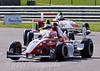 Alice Powell (Hillspeed) leads Mitchell Hale (Fortec Motorsport) & Josh Webster (Welch Motorsport) - Protyre Formula Renault BARC Championship