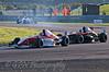 James Theodore (Hillspeed) leads Dino Zamparelli (Antel Motorsport) - Protyre Formula Renault BARC Championship