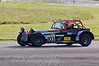 Mick Whitehead (Caterham 7) retiring with radiator damage - Easytrack Caterham Graduate Championship (Super)