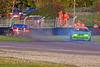 Edin Sadig (BMW Z3M Coupe) spins off while a competitor takes avoiding action - Kumho BMW Championship