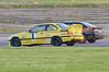 James Webb (BMW E36) diving inside a backmarker - Kumho BMW Championship