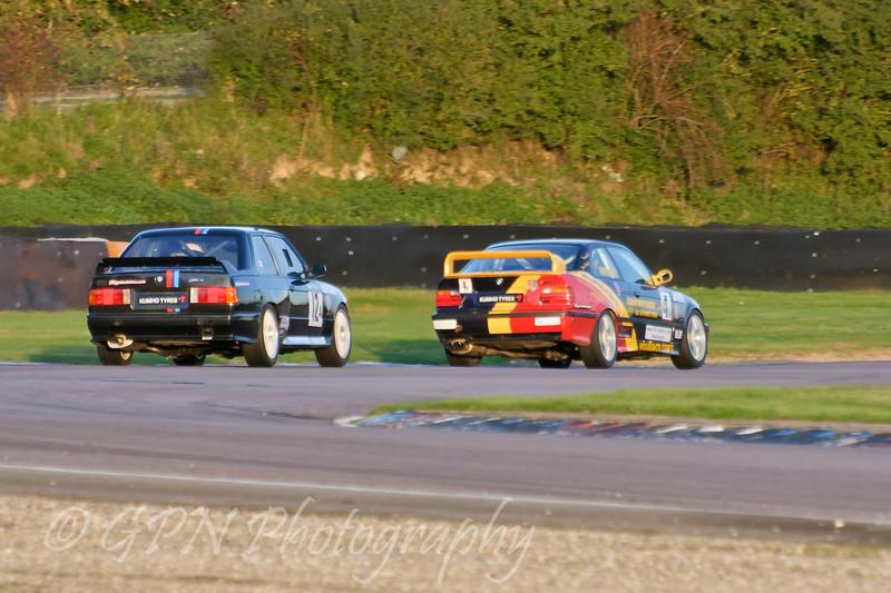 Colin Whitmore (BMW M3) leads Karl Cattliff (BMW E30 M3) - Kumho BMW Championship