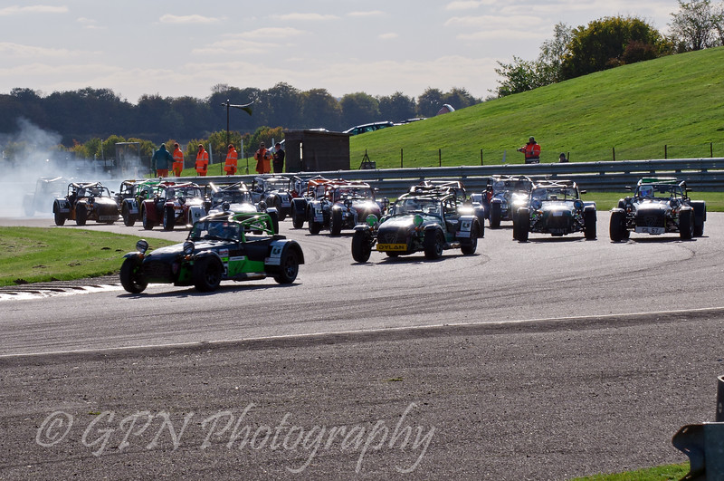 The start of the Super Caterham race