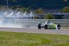 Sazlan Sirajudin (Uniq Racing with Triple Eight) braking hard - Protyre Formula Renault BARC Championship