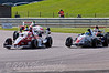 Alice Powell (Hillspeed) leads Luke Wright (SWB Motorsport), Dino Zamparelli (Antel Motorsport), Mitchell Hale (Fortec Motorsport) & Josh Webster (Welch Motorsport) - Protyre Formula Renault BARC Championship