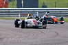 Mitchell Hale (Fortec Motorsport) leads Matt Draper (Antel Motorsport) - Protyre Formula Renault BARC Championship