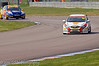 Gordon Shedden (Honda Civic) leads Andrew Jordan (Vauxhall Vectra) - MSA British Touring Car Championship