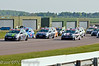 The start of the Renault Clio race - Renault Clio Cup UK