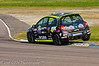 Jack Goff riding the kerbs - Renault Clio Cup UK