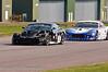 Louise Richardson (Ginetta G50) leads Jody Fannin (Ginetta G50) - Ginetta GT Supercup