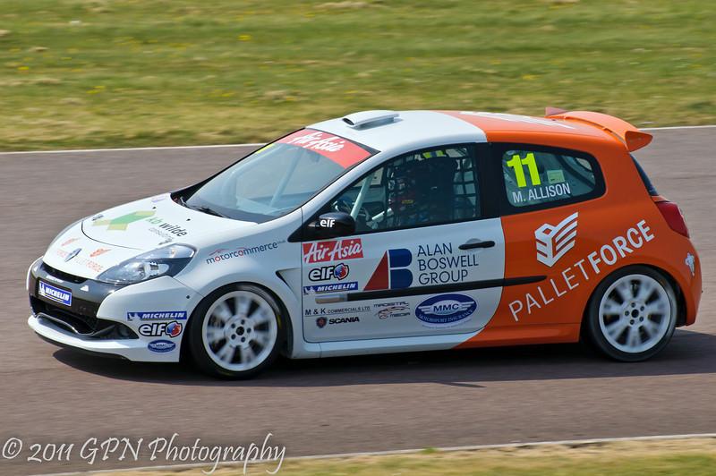 Matt Allison - Renault Clio Cup UK