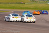 Charlie Robertson & Michael Day follow the field - Ginetta Junior Championship