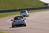James Dixon chasing Craig Currie - Renault Clio Cup UK