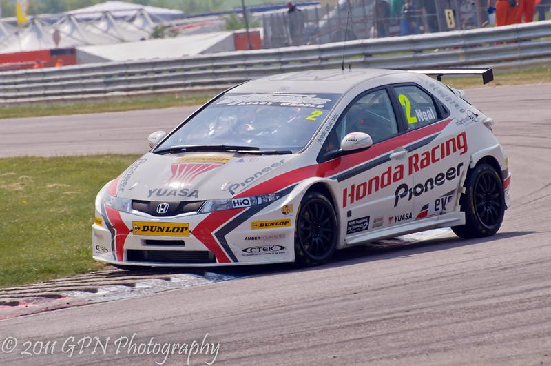 Matt Neal (Honda Civic) - MSA British Touring Car Championship