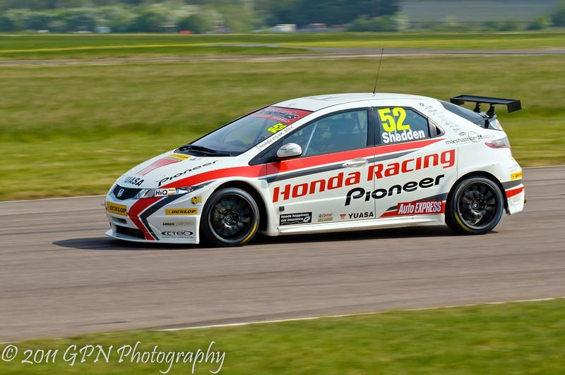 Gordon Shedden (Honda Civic) - MSA British Touring Car Championship