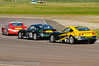 Struan Moore leads William Foster & Jake Giddings - Ginetta Junior Championship