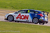 Tom Chilton (Ford Focus) takes a lot of kerb! - MSA British Touring Car Championship